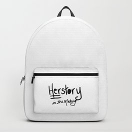 Herstory In the making Backpack