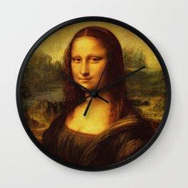 Leonardo Da Vinci Mona Lisa Painting Wall Clock