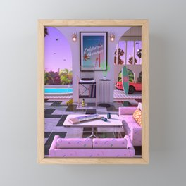 California Dreamin' Framed Mini Art Print