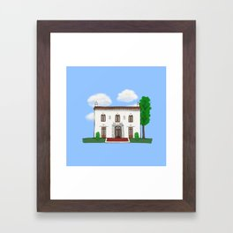 Concord Historical Society Framed Art Print
