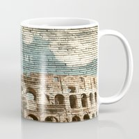 rome Mugs featuring Rome by Snaps Between Naps