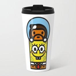 baby milo and spongbob Travel Mug