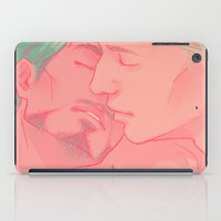cuddle iPad Cases featuring CUDDLE by FISHNONES