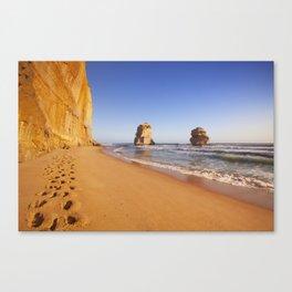 I - Twelve Apostles on the Great Ocean Road, Australia at sunset Canvas Print