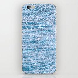 Blue Water Aqua Splash Beading Bouy iPhone Skin