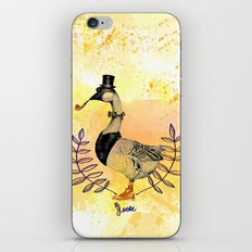 Mr.Goose I iPhone & iPod Skin