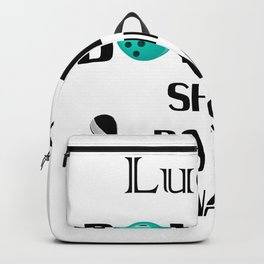 Lucky Bowling Gift For Mom Mothers Day Backpack