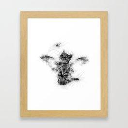 GOLD FISH Framed Art Print