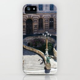 Louvre Staircase iPhone Case