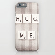 Hug Me Photography, Brown Neutral Love Photograph iPhone 6s Slim Case