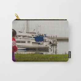 Girl At The Pier Carry-All Pouch