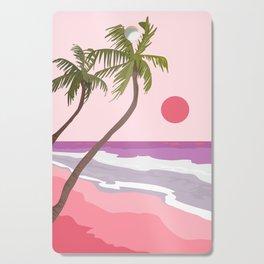 Tropical Landscape 01 Cutting Board