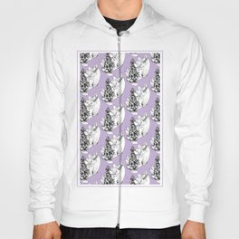 early-purple orchid  Hoody