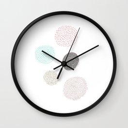 Five Dandelions Wall Clock