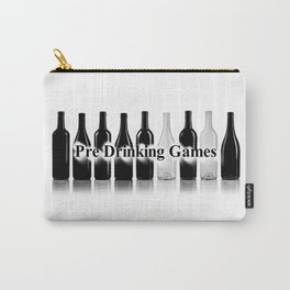 Pre Drinking Games Logo 2 Carry-All Pouch