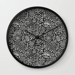 Surreal pattern Wall Clock