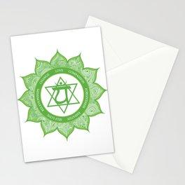 Heart Chakra #49 Stationery Cards