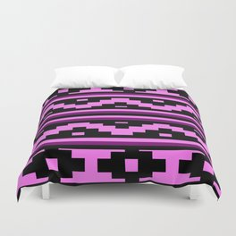 Etnico violet version Duvet Cover