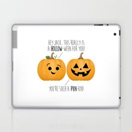 You're Such A Pun-Kin! Laptop & iPad Skin