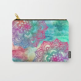 Round & Round the Rainbow Carry-All Pouch