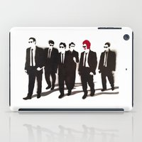 reservoir dogs iPad Cases featuring Reservoir Ronald by Stewart S