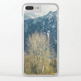 Mt. Si, Washington Clear iPhone Case