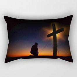Christian Faith Rectangular Pillow
