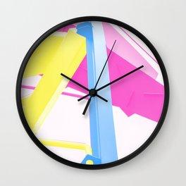 CMY Wall Clock