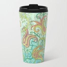 paisley garden Travel Mug