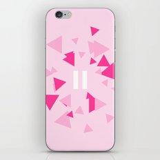 Opposite III Pause Pink iPhone & iPod Skin
