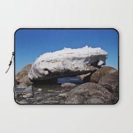 Iceberg on the Rocks Laptop Sleeve