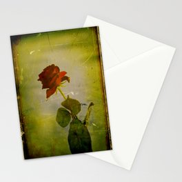 A Rose. Stationery Cards