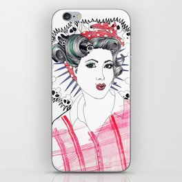 Pin-up iPhone Skin