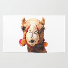 Camel Portrait Rug