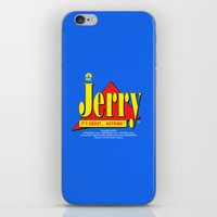 seinfeld iPhone & iPod Skins featuring SEINFELD - Jerry, soon on NBC by La Cantina