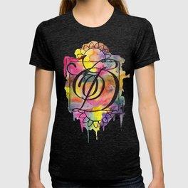 Calligraphy Capital Initial D T-shirt