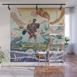 Ukiyo-e tale: The legend Wall Mural