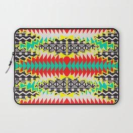 Tribal Beat Geo Neon Laptop Sleeve