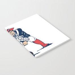 NE Pats Retro Notebook