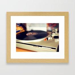 Vinyl Lover Framed Art Print