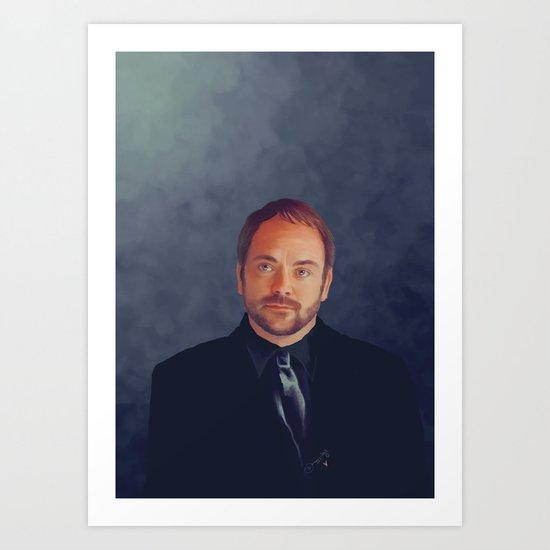 Crowley - Supernatural Art Print
