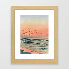 A Place In The World Framed Art Print