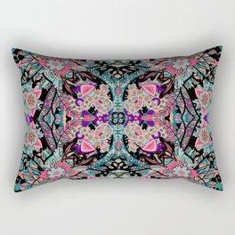 Mandala Colorful Boho Rectangular Pillow