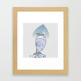 8 of spades Framed Art Print