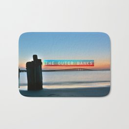 Cape Hatteras Light - Outer Banks - North Carolina.  Bath Mat