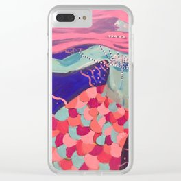 Scales Clear iPhone Case