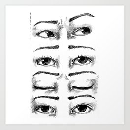Eyesight Art Print