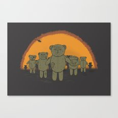 Dawn of the Ted Canvas Print