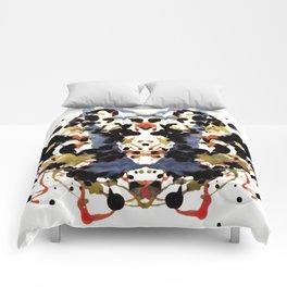 Ink Blot V1 Comforters