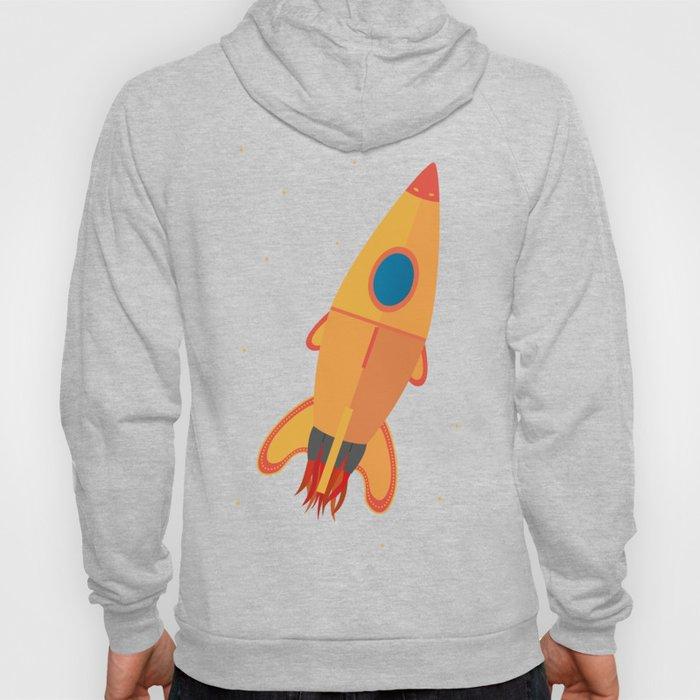 the yellow rocket Hoody